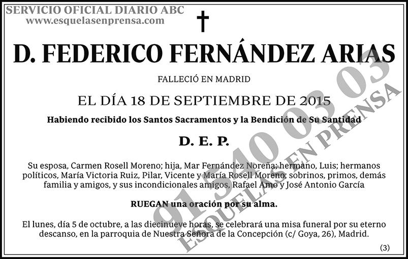 Federico Fernández Arias